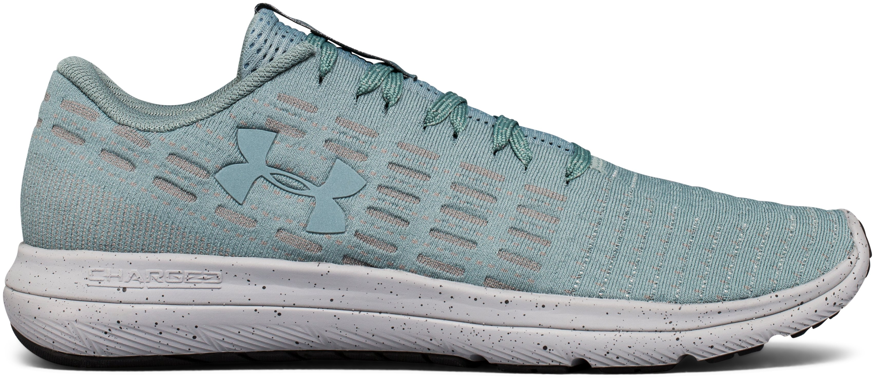 Men's UA Threadborne Slingflex Speckle Shoes, FRESCO GREEN