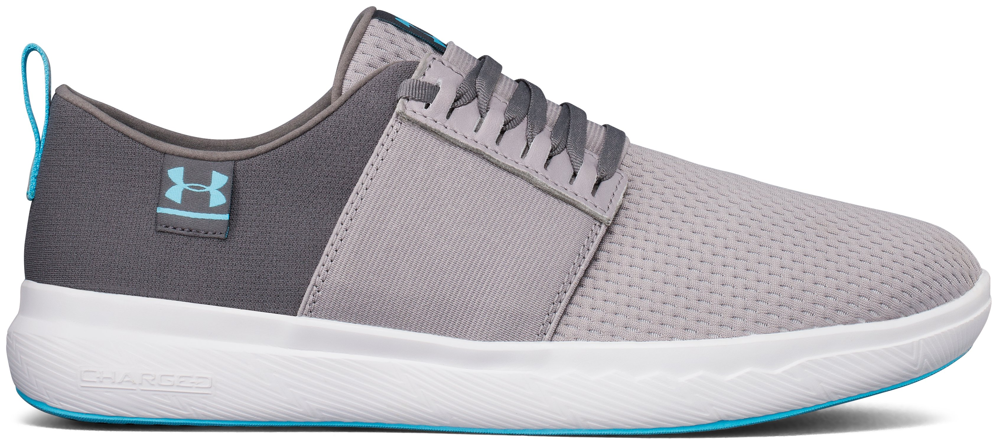 Men's UA Charged 24/7 NU Shoes, GRAY WOLF