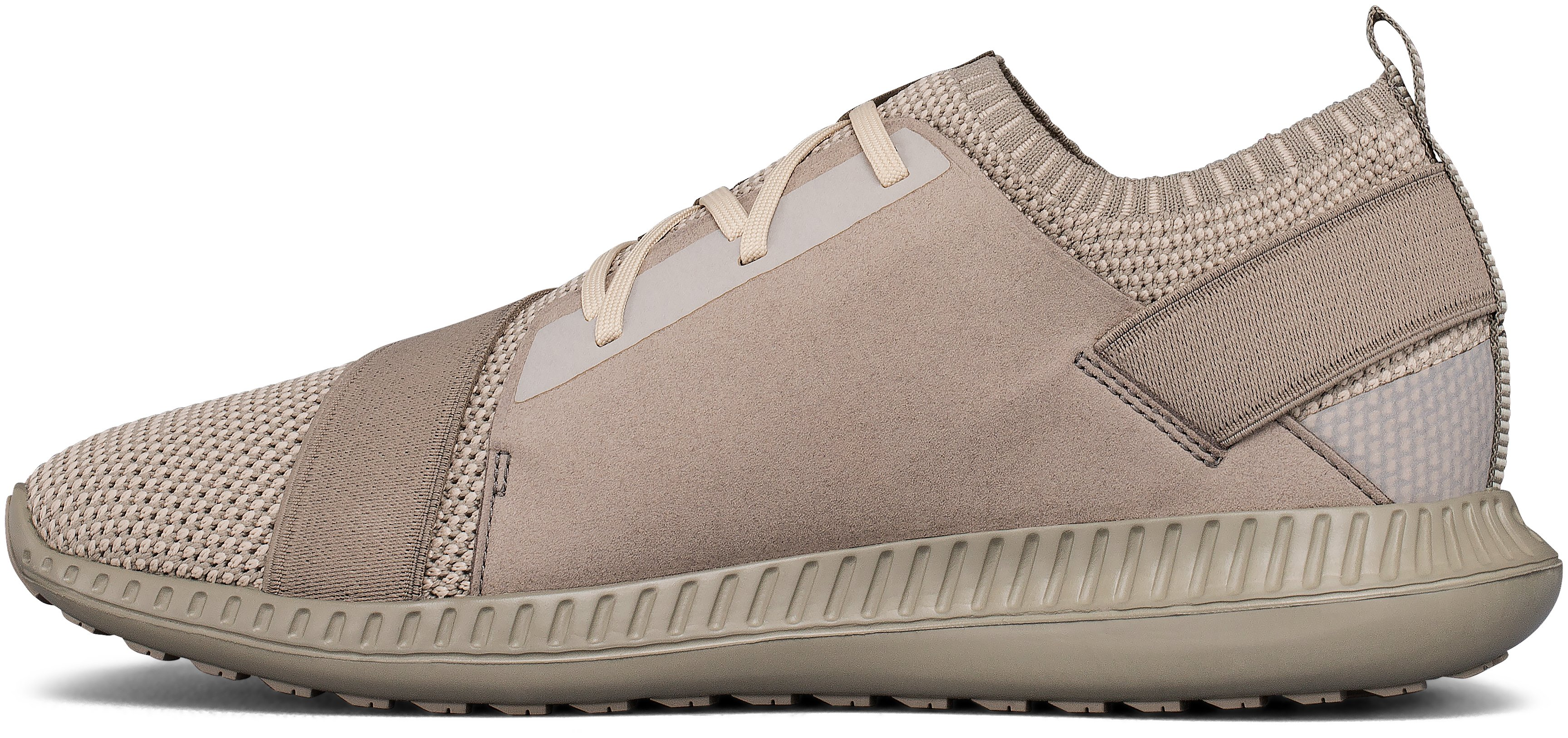 Men's UA Threadborne Shift Lifestyle Shoes, BEIGE CANVAS, undefined