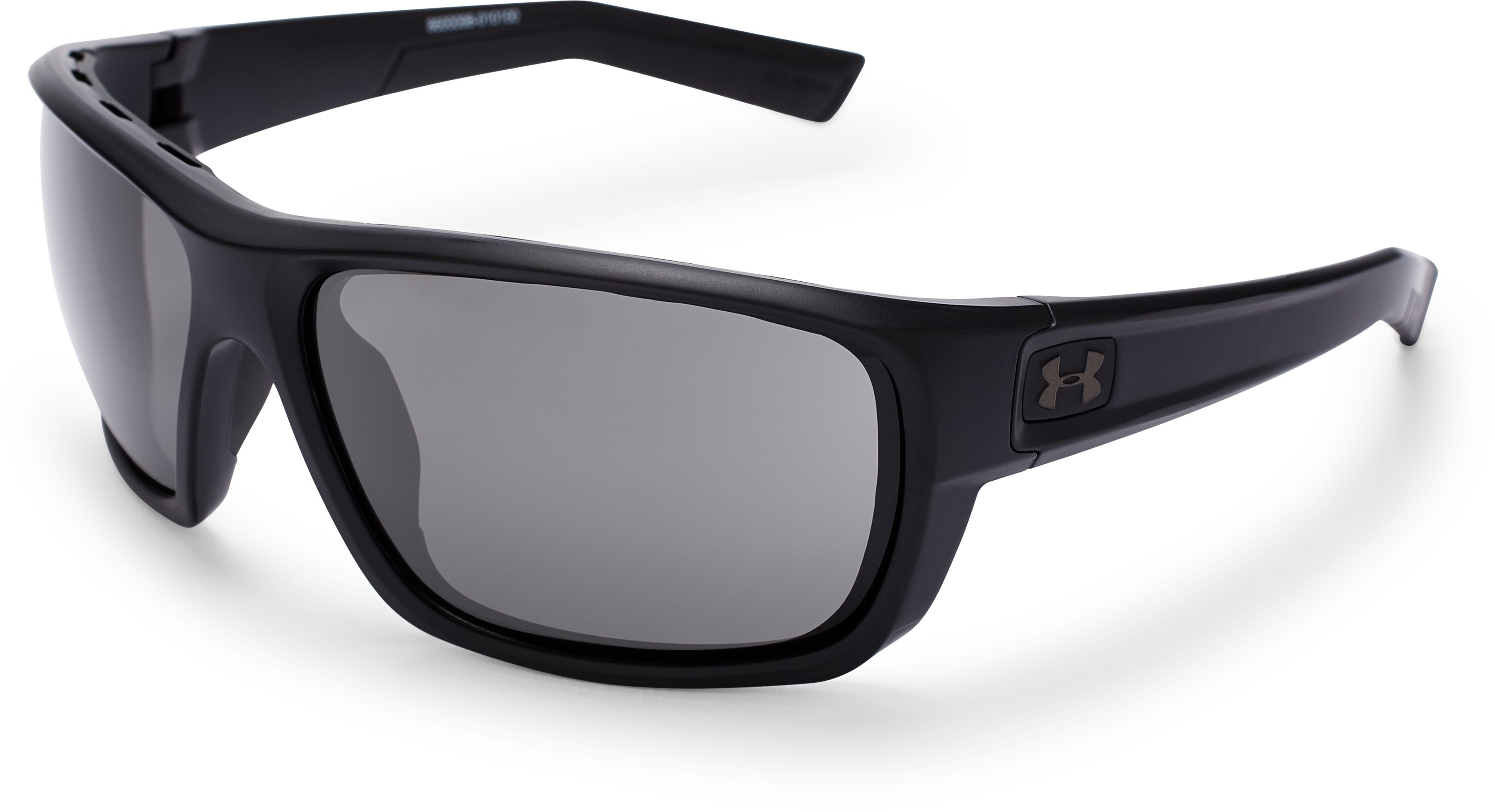 UA Launch Sunglasses, Satin Black