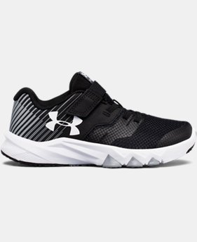 New Arrival Boys' Pre-School UA Primed 2 Adjustable Closure Running Shoes  1 Color $57.99