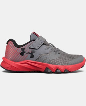 Boys' Pre-School UA Primed 2 Adjustable Closure Running Shoes LIMITED TIME OFFER 2 Colors $52.49