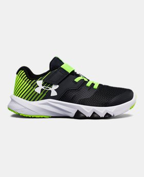 d351df9d4ee4 Boys  Pre-School UA Primed 2 Adjustable Closure Running Shoes 1 Color  Available  34.99