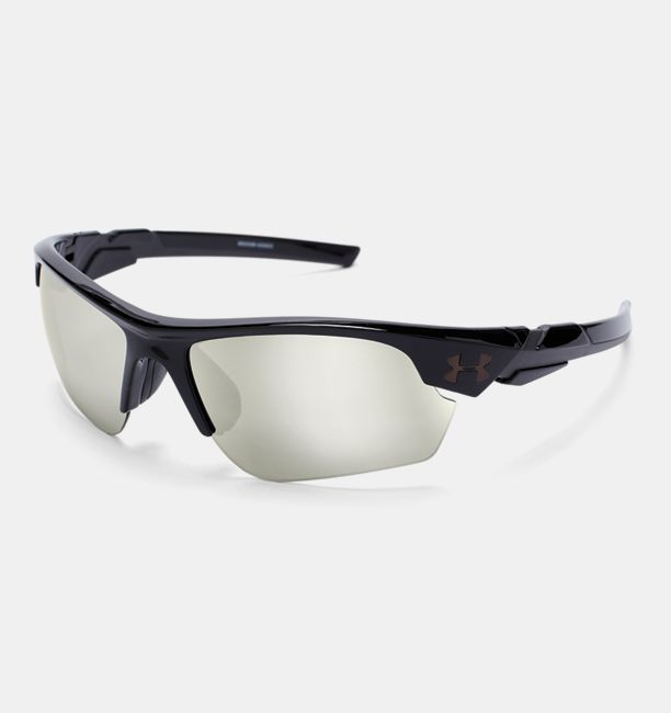 Under Armour Ua Windup Sunglasses, Shiny White, OSFA