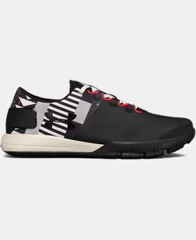 New Arrival  Men's UA x Muhammad Ali Charged Ultimate 2.0 Training Shoes  1 Color $119.99