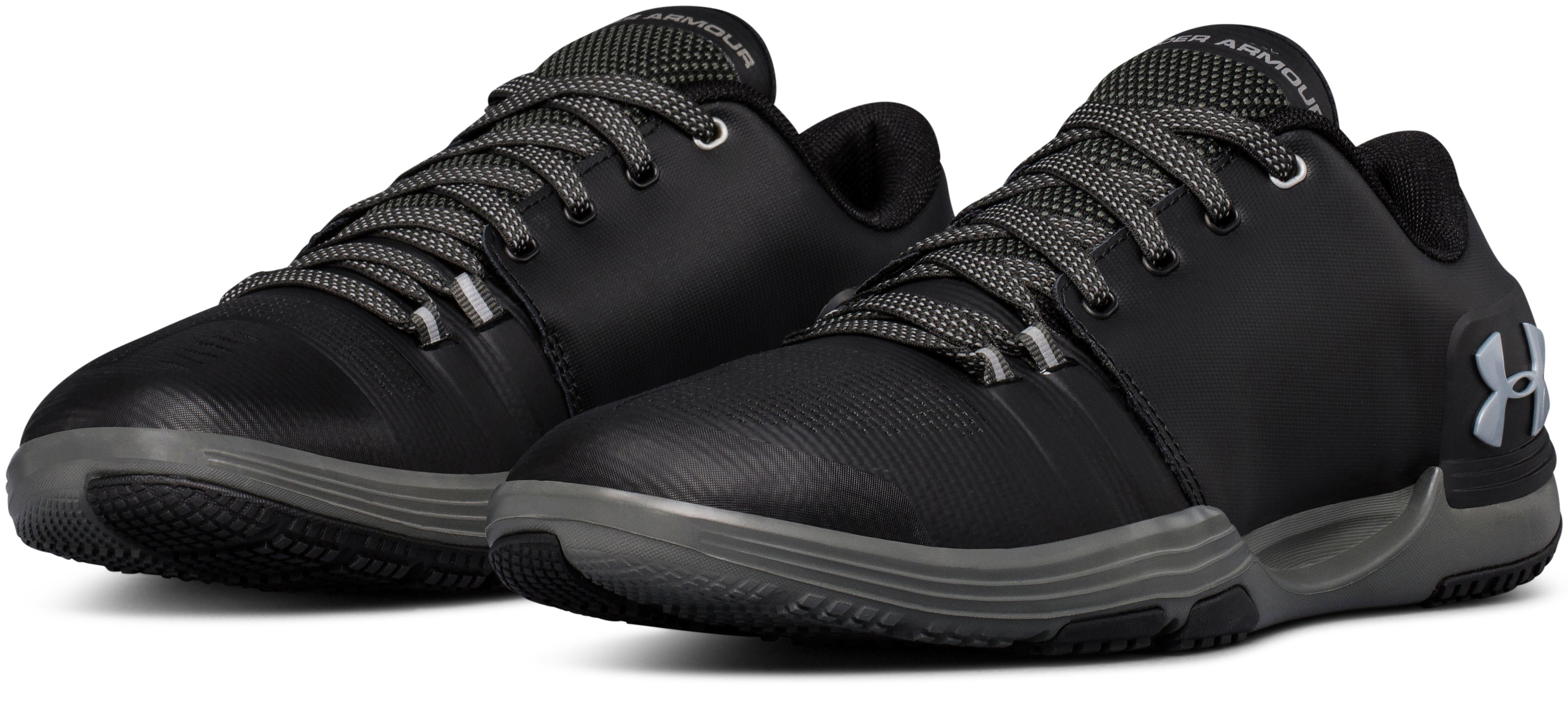 Men's UA Limitless 3.0 Outdoor Training Shoes, Black , undefined