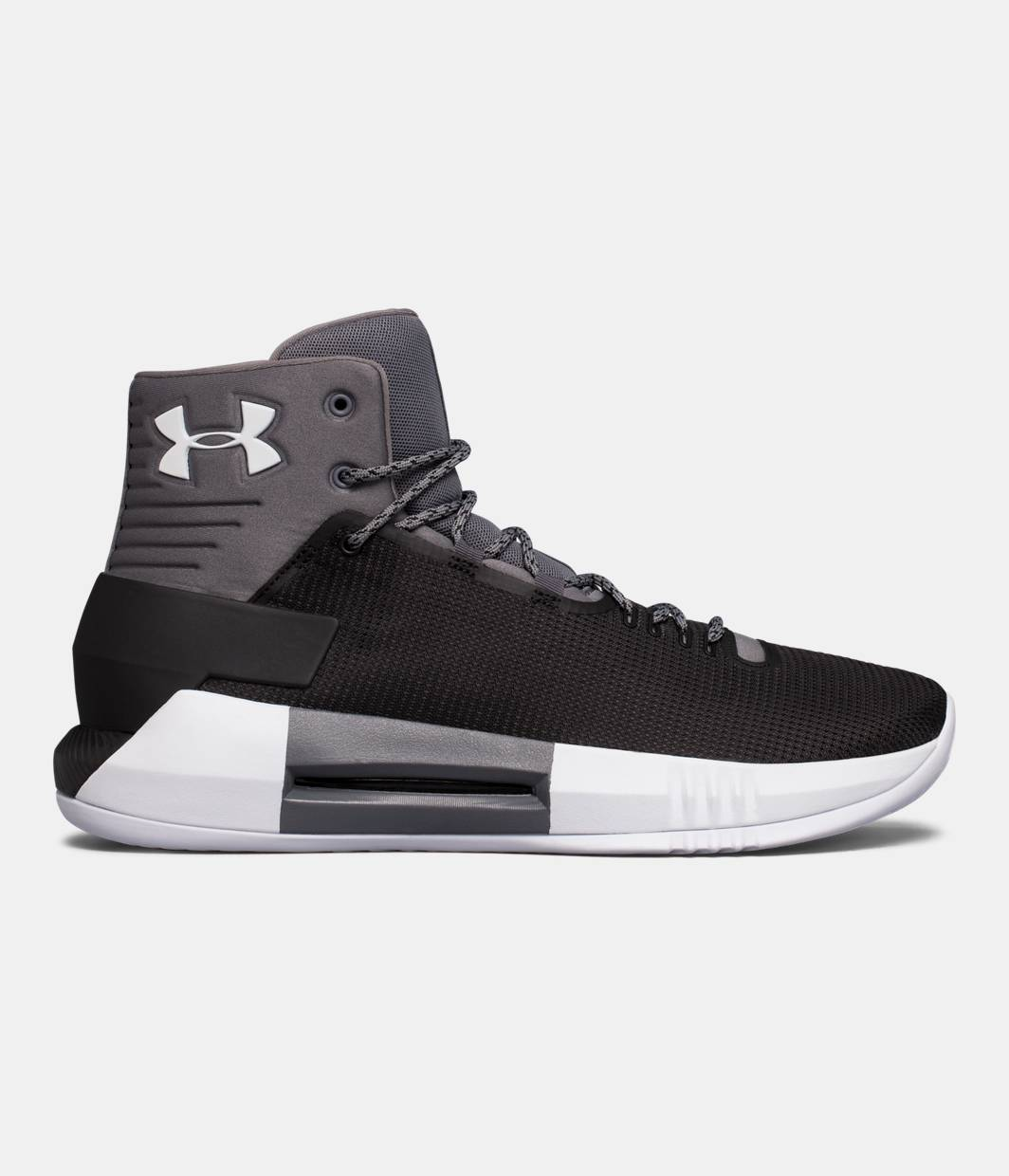 Mens Ua Drive 4 Basketball Shoes, Black Under Armour