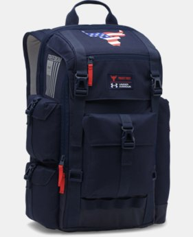 New Arrival UA x Project Rock Freedom Regiment Backpack  1 Color $134.99