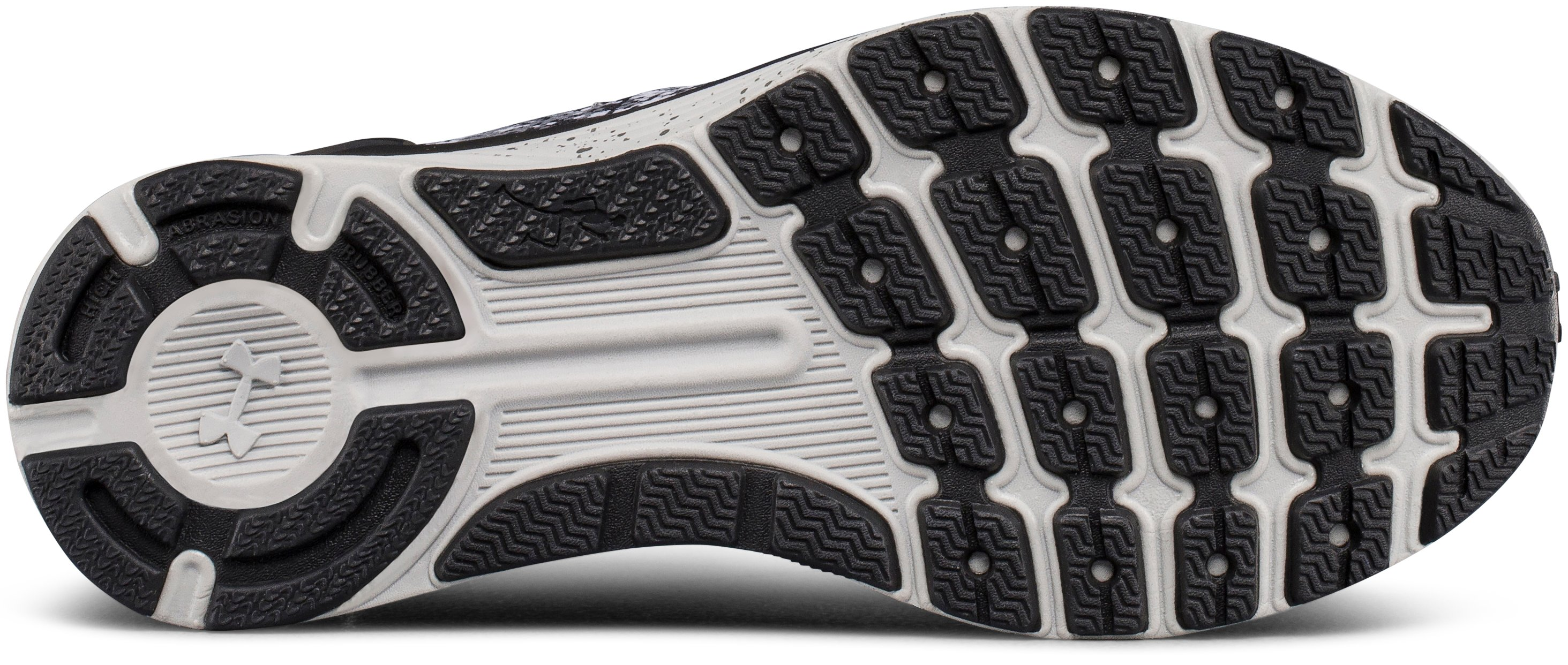 Women's UA Charged Bandit 3 Digi Running Shoes, GLACIER GRAY,