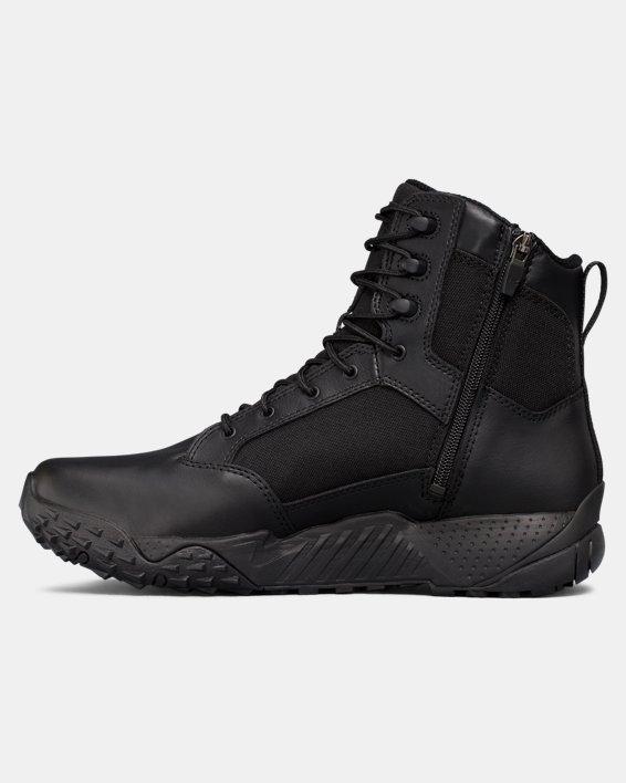 Men's UA Stellar Tactical Side-Zip Boots, Black, pdpMainDesktop image number 1