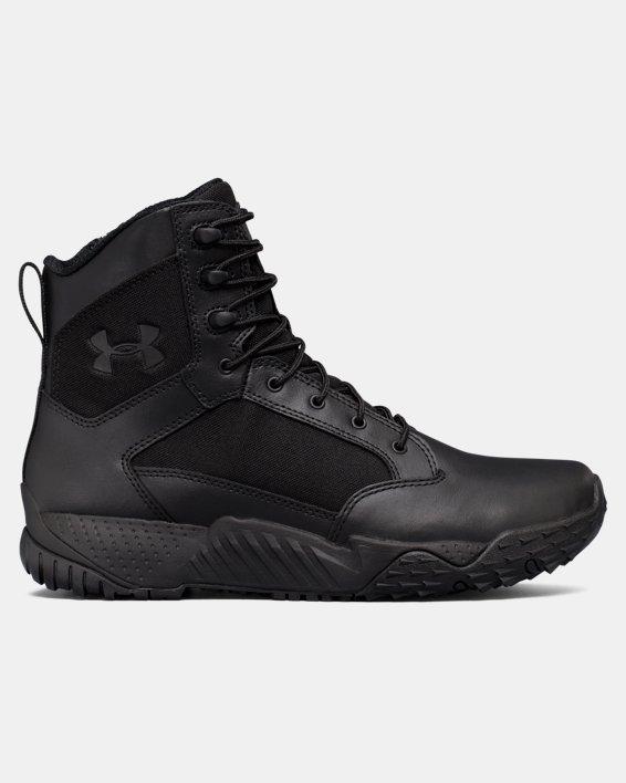 Men's UA Stellar Tactical Side-Zip Boots, Black, pdpMainDesktop image number 0