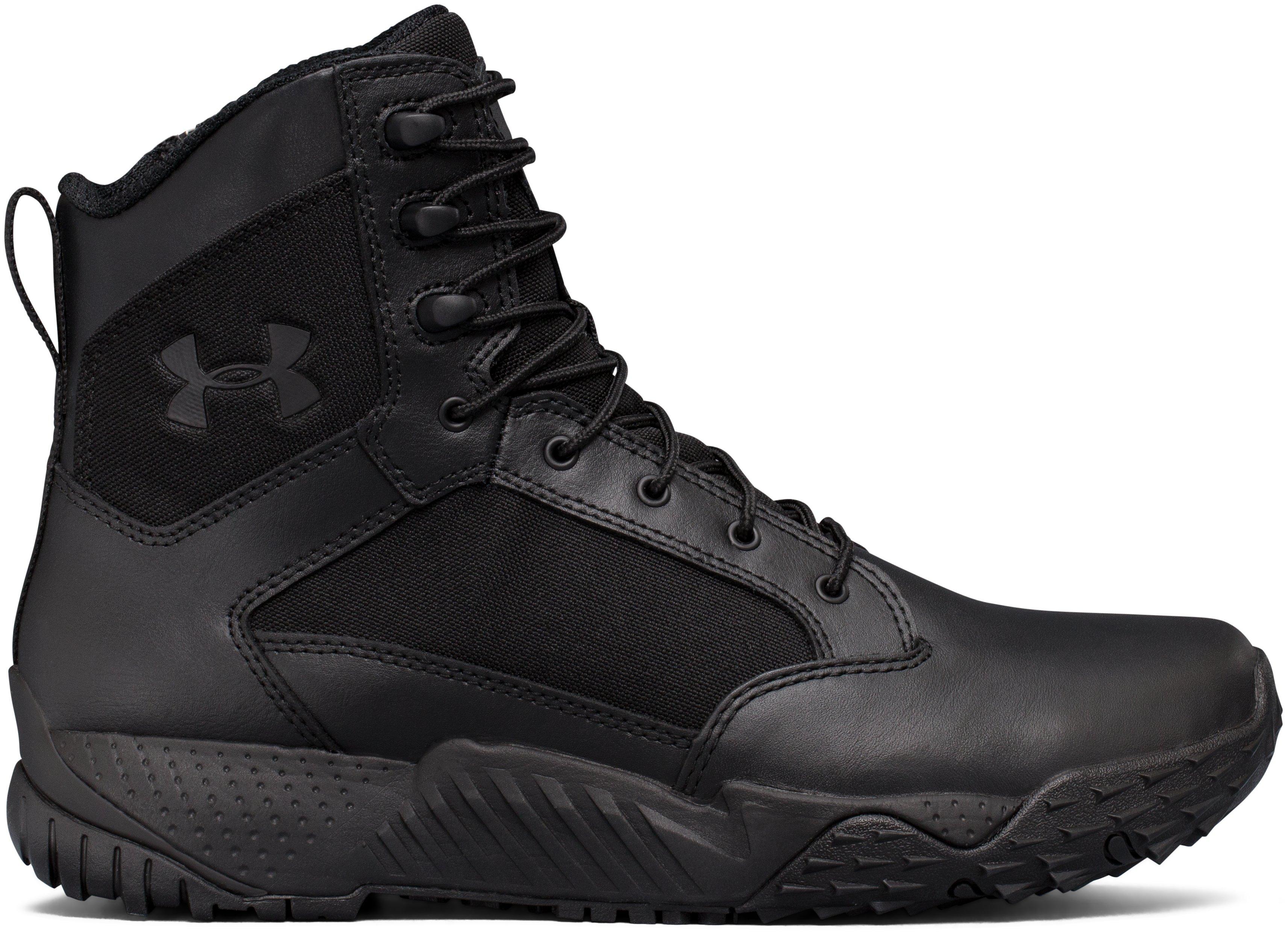 Sepatu Boot UA Stellar Tactical Side-Zip untuk Pria, 360 degree view