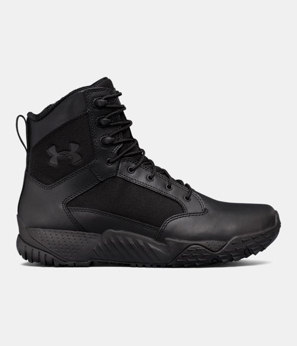 Men S Ua Stellar Tactical Side Zip Boots Under Armour Us