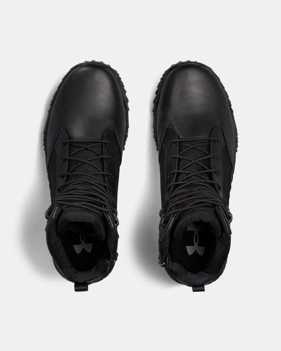Men's UA Stellar Tactical Side-Zip Boots, Black, pdpMainDesktop image number 3