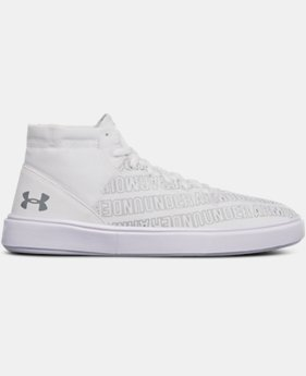New Arrival Girls' Grade School UA KickIt2 Wordmark Mid Shoes  1 Color $39.99