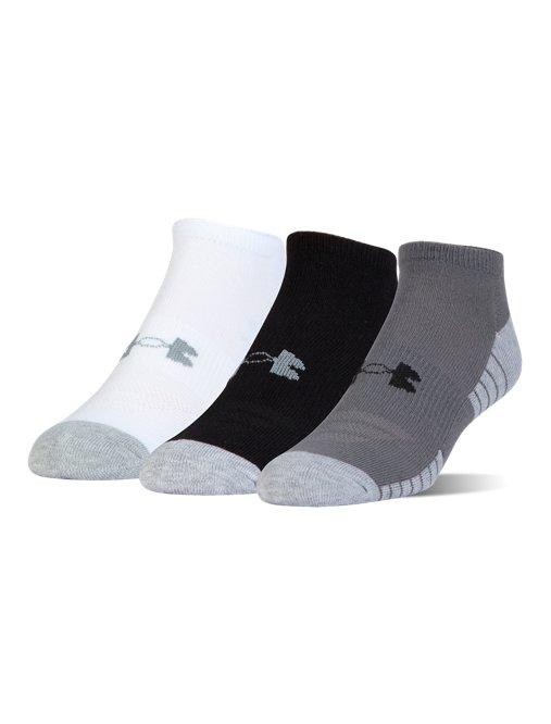 3e8077b04da UA HeatGear® Tech No Show Socks - 3-Pack | Under Armour US