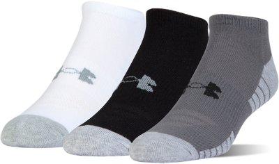 Bon UA HeatGear® Tech No Show Socks U2013 3 Pack, Graphite