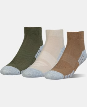 Best Seller HeatGear® Tech Lo Cut Socks 3-Pack  1  Color Available $15