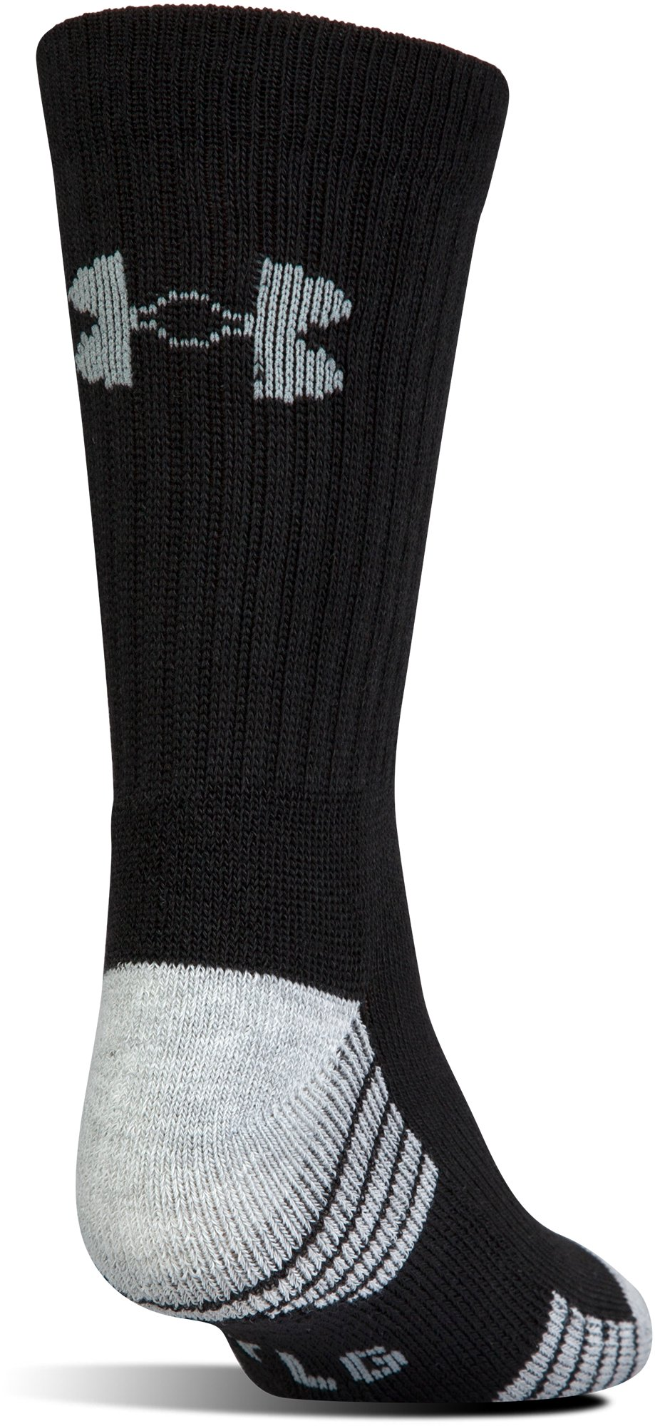 UA HeatGear® Tech Crew Socks – 3-Pack, Black ,