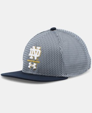 Boys' Notre Dame UA Twist Mesh Cap LIMITED TIME: FREE U.S. SHIPPING  $29.99