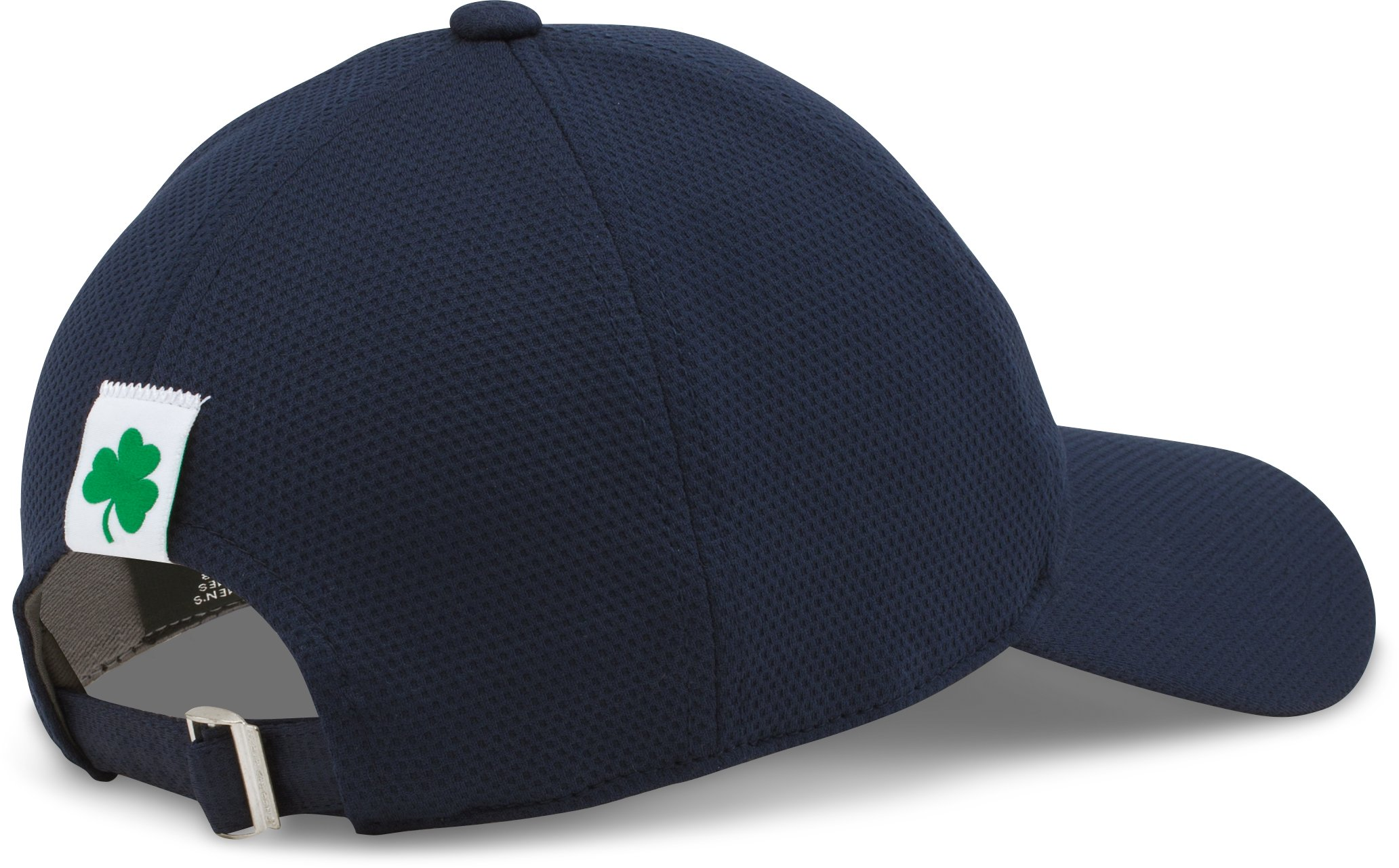 Women's Notre Dame Blitzing Adjustable Cap, Midnight Navy, undefined