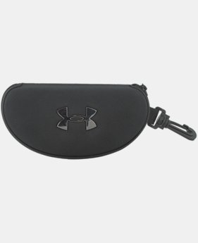 UA Hard Sunglasses Case With Clip  1  Color Available $20
