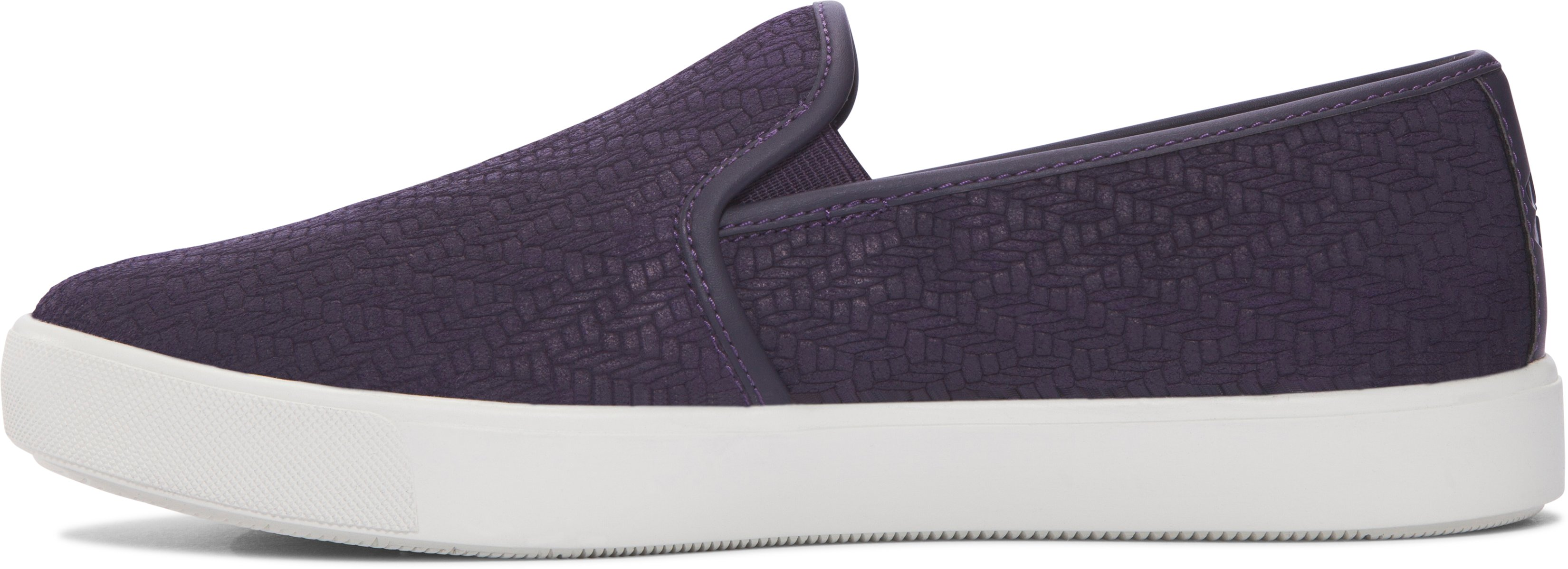 Women's UA DJ Suede Lifestyle Shoes, IMPERIAL PURPLE,