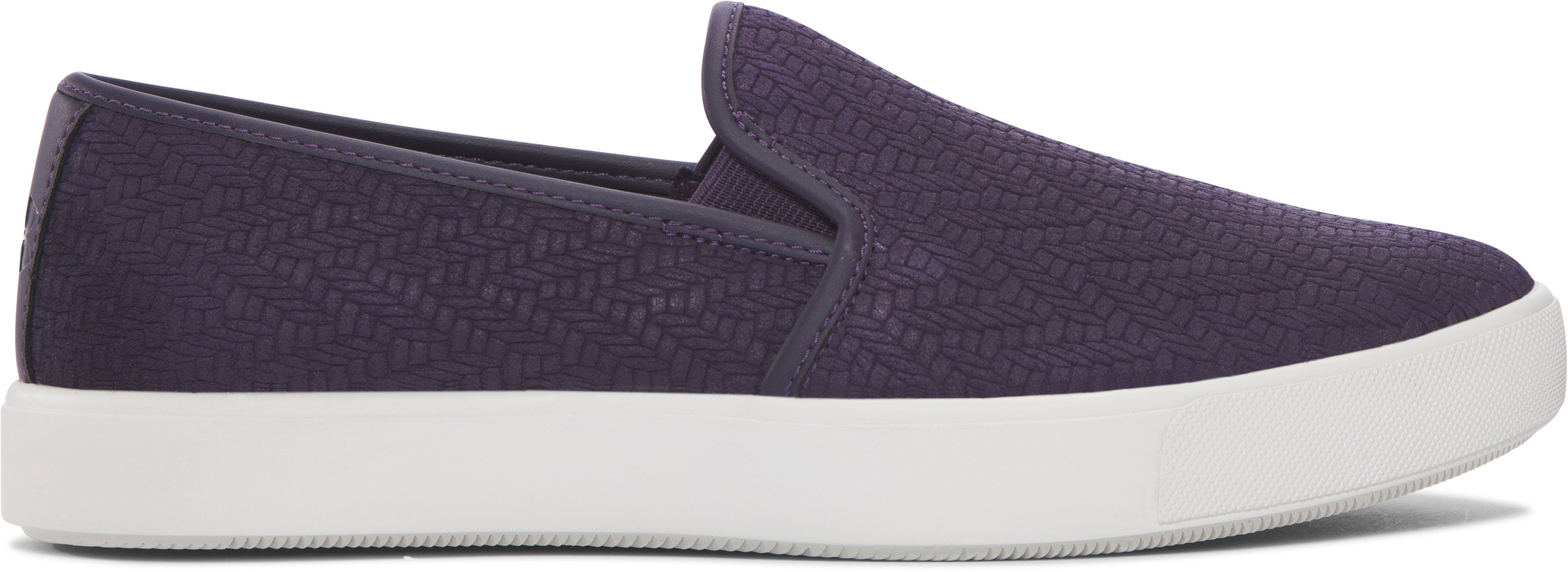 Women's UA DJ Suede Lifestyle Shoes, IMPERIAL PURPLE