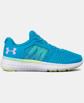 New Arrival Girls' Pre-School UA Micro G® Fuel Prism Running Shoes  1 Color $57.99