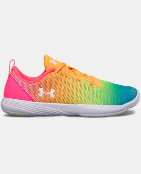 Girls' Pre-School UA Street Precision Sport Prism Training Shoes  1 Color $54.99
