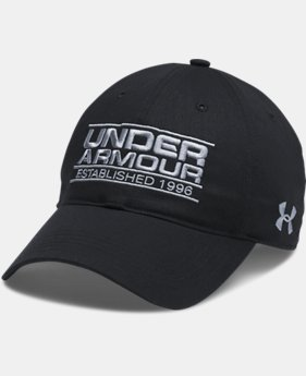 Men's UA Striped College Cap  1 Color $13.49