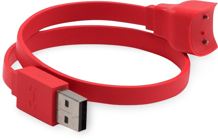 UA Band Charging Cable, Red