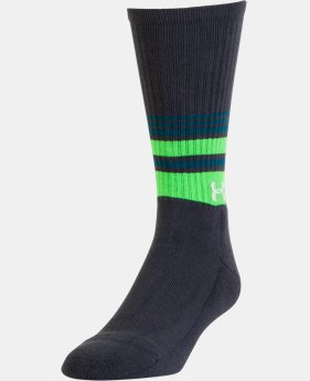 Men's UA Golf Crew Socks  2 Colors $14.99