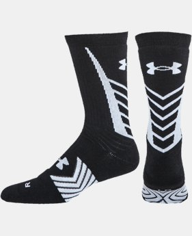 Men's UA Undeniable Crew Sock   3 Colors $19.99