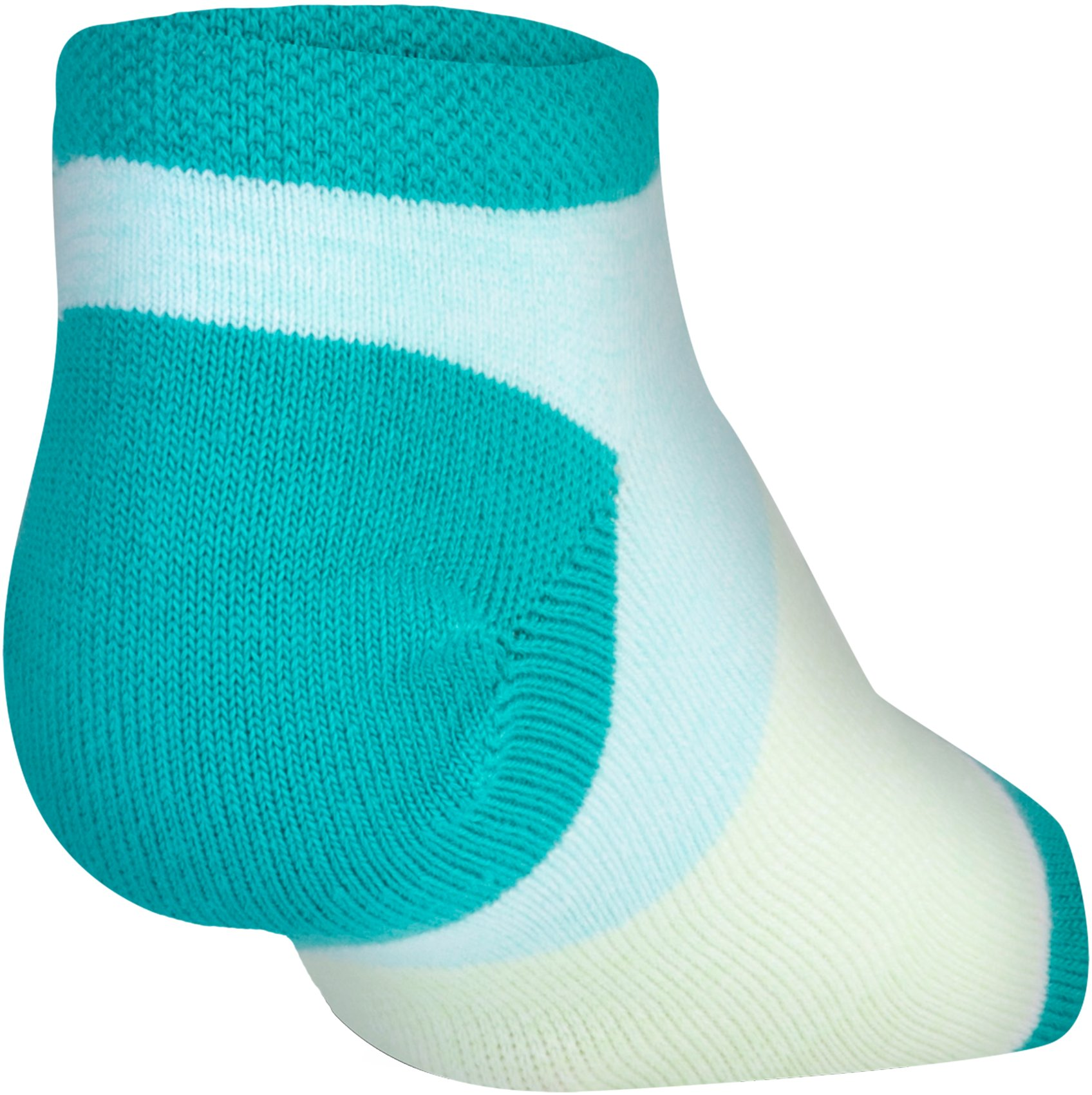 Kids' UA Essential Twist No Show Socks – 6-Pack, TALC BLUE,