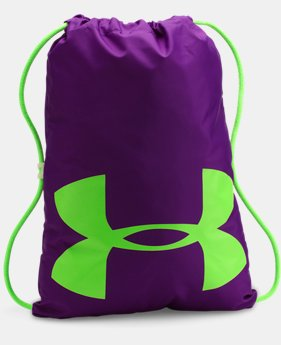 UA Ozsee Elevated Glow Sackpack  1 Color $19.99