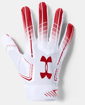 Men's UA F6 Football Gloves  4  Colors Available $35