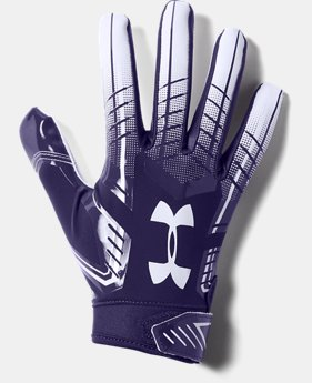 Men's UA F6 Football Gloves  1  Color Available $35