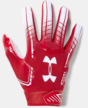 Men's UA F6 Football Gloves  1  Color Available $40