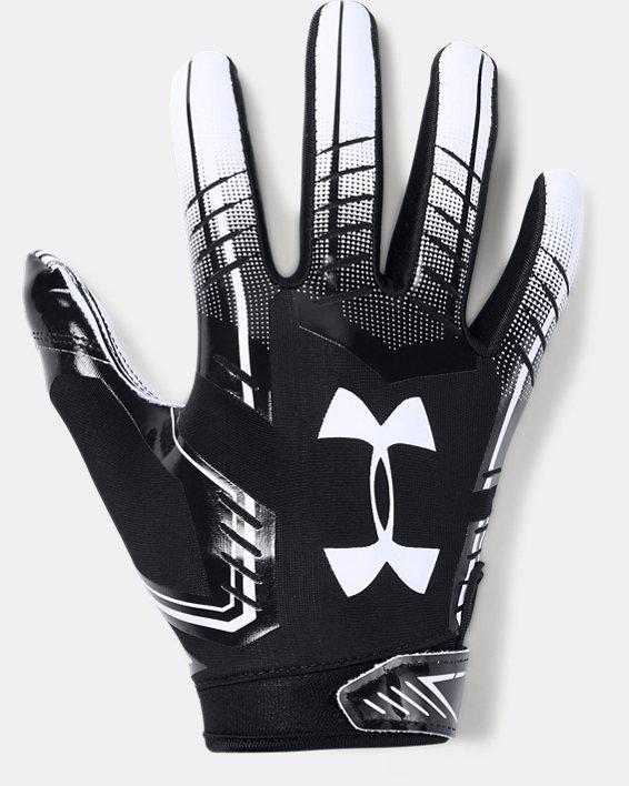 Boys' UA F6 Football Gloves, Black, pdpMainDesktop image number 0
