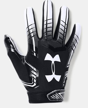 Boys' UA F6 Football Gloves FREE SHIPPING 2  Colors Available $25