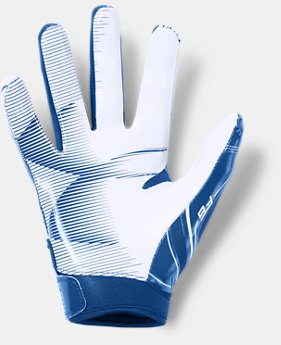 Boys' UA F6 Football Gloves  1  Color $25