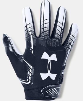 Boys' UA F6 Football Gloves FREE U.S. SHIPPING 1  Color Available $25