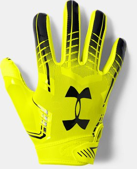 Boys' UA F6 Football Gloves  11  Colors Available $25