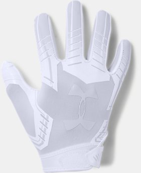 Pee Wee UA F6 Football Gloves  1  Color Available $25