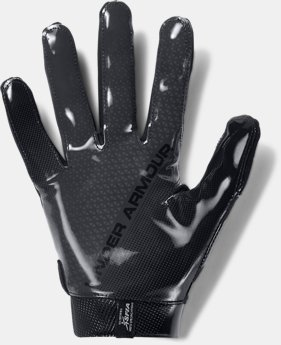 Men's UA Spotlight- NFL Football Gloves  1  Color $50