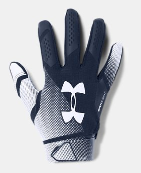 Men s UA Spotlight- NFL Football Gloves 5 Colors Available  22.5 cd08c2ceae