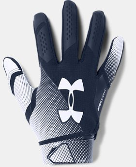 Men's UA Spotlight- NFL Football Gloves  1  Color Available $45