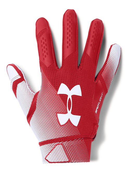 Men s UA Spotlight- NFL Football Gloves  e8b862b5db