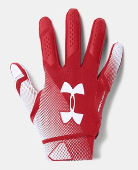 Men s UA Spotlight- NFL Football Gloves 1 Color Available  22.5 edb8fa956ef1